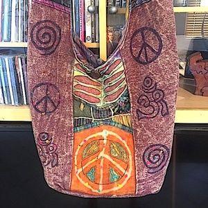 Boho/Crossbody Peace Bag